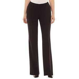 Worthington Womens Curvy Fit Perfect Trouser Navy